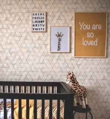 Babykamer Zwart Ledikant